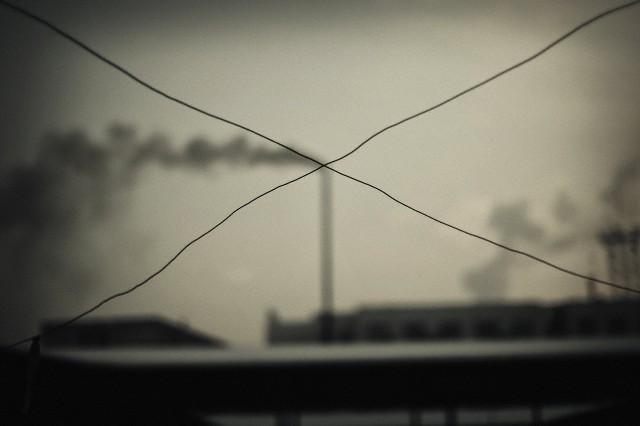Poluição industrial na China. (Foto: Li Fan/National Geographic Creative/Corbis)