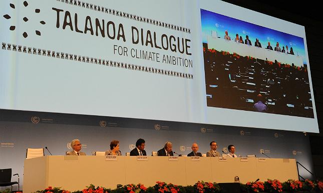 Rodada do Diálogo Talanoa realizada em Bonn (Alemanha), em abril de 2018, num evento aberto