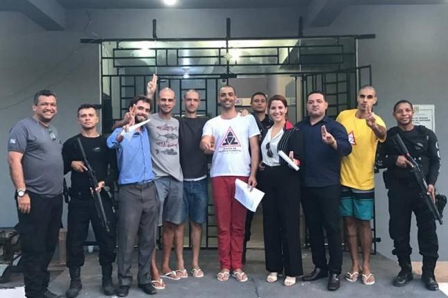 Os #4deSantarém deixam a prisão