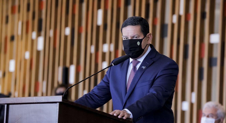 O vice-presidente Hamilton Mourão (Romério Cunha/VPR)